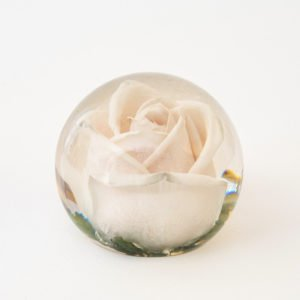 Funeral Flower Paperweights