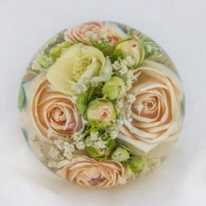 Wedding Flower Paperweights