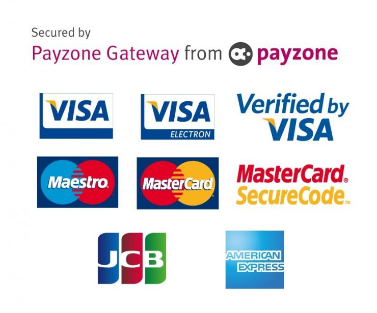 Payzone Card Logos [Squre] - 3D Secure RGB