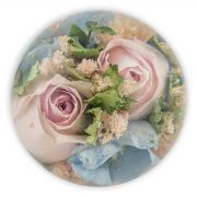 Mixed Funeral Flower Paperweight