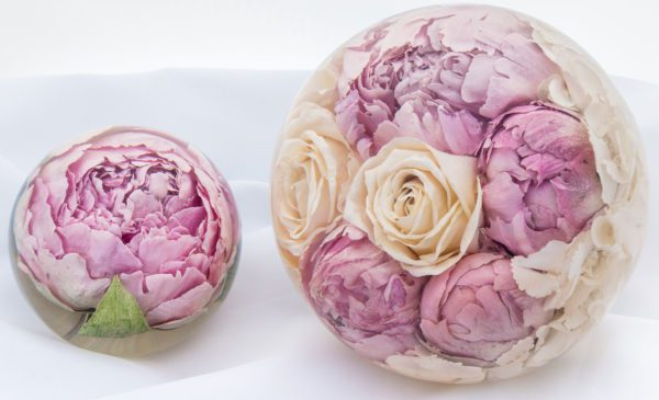 Wedding Flower Paperweighgts